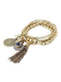 The Patsy Gold Bracelet Set