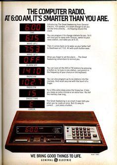 GE Computer Radio