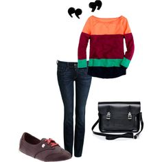 """""""Errands, no need to fear."""" by lynnerambling on Polyvore"""
