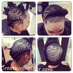 Love fishbone hairstyles
