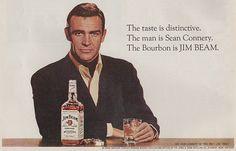 1967: Sean Connery for Jim Beam Bourbon