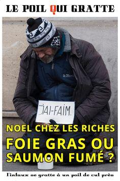 [LPQG Niouzes] Hors-Série: Noël chez les riches foie gras ou saumon fumé?