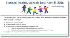 Healthy Schools Network, Inc. - National Healthy Schools Day