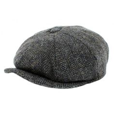 d4f11073 Failsworth Mens Harris Tweed 'Carloway' Baker Boy - The Hat Company