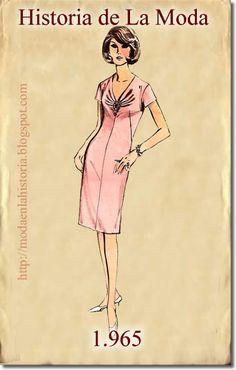 HISTORIA DE LA MODA - FASHION HISTORY : La Moda en los años 60, Fashion in the 60s (PARTE II) 90s Fashion Grunge, 60 Fashion, Fashion Books, Fashion History, Vintage Fashion, Womens Fashion, Miss Match, Chic Dress, New Look