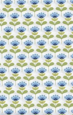 Tilda Fabric - Molly Blue