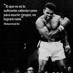 Una gran frase de Muhammad Ali #inspiratopia