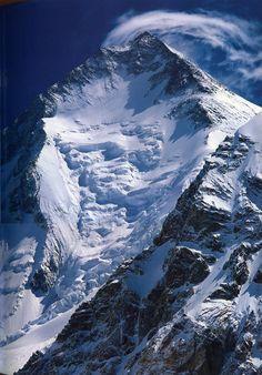 The Karakoram Mountains of Pakistan Shirahata - Gasherbrum I From Gasherbrum Base Camp.jpg 951×1,364 pixels