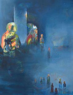 "Saatchi Art Artist: Yngvil Birkeland; Acrylic Painting ""No title"""