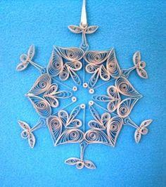 Quilling Seasons: snowflake