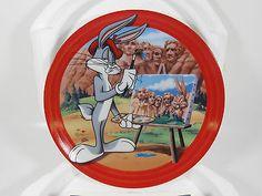 Bradford Exchange Bugs Bunny Collector Plate Mount Rushbunny With COA