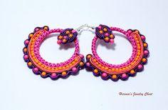 Ethnic Earrings Boho Earrings Boho Jewelry Hippie by Herinia, $35.00