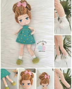 In this article you can easily feel the amigurumi mina doll crochet pattern with highly detailed narration waiting for you. Doll Amigurumi Free Pattern, Crochet Dolls Free Patterns, Crochet Doll Pattern, Amigurumi Doll, Doll Patterns, Free Crochet, Crochet Panda, Stuffed Toys Patterns, Creations