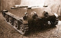 Soviet tankette prototype Heavy And Light, Ww2 Tanks, Tank Design, Big Guns, Military Weapons, Military Equipment, Armored Vehicles, War Machine, Special Forces