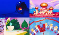 Disney's Aladdin backgrounds  mickeyandcompany.tumblr.com
