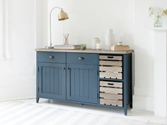 Cidre Sideboard in Inky Blue | Painted Sideboard | Loaf
