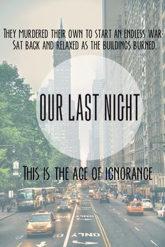 Age Of Ignorance - Our Last Night