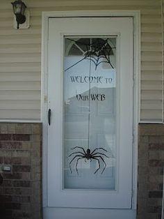 Cute idea 4 my front door.. <3 it!