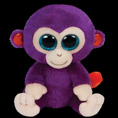 a9de3d360d6 Beanie Boos Ty Beanie Boos - Grapes the Monkey Soft Toy Beanie Boos are  cuddly bundles of fun!With a name like lsquo