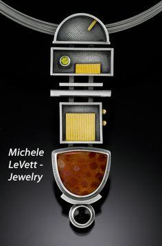 Bethesda Row Arts Festival - Oct. 19 & 20 - Michele LeVett - Jewelry - www.bethesdarowarts.org