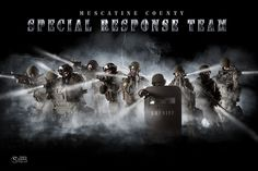 SWAT - background with multiple layers of smoke and lights! Great for a team of athletes that is wanting to stand out from a crowd! Many other sports templates on my website - http://shirkphotography.com/for-photographers/products/sports-templates/?product_page=1 Unfortunately not available to photographers within 200 miles of our studio.