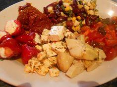 Verboten gut ⚠: Eingelegte Paprika Meat, Chicken, Orange, Food, Pickling, Food Dinners, Food And Drinks, Food Food, Essen