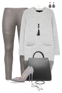 """""""Untitled #7067"""" by lisa-holt ❤ liked on Polyvore featuring Bohème, Proenza Schouler, ZAC Zac Posen, Barneys New York and John Hardy"""