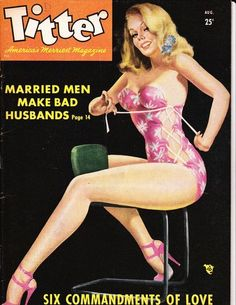 TITTER (AUG 1949)PETER DRIBEN Cover