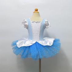 Girl Tutu Halloween Cinderella Costume Kid Princess Ballet Dancing Dress 2-6T #OEM #DancingPerformanceDressyHolidayPageant