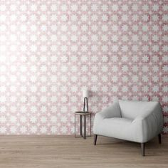 Pink Pradena Tile is part of Bert & May's handmade cement tile collection. Shop our range of quality tiles in plain or patterned styles, created using natural pigments. Bedroom Furniture, Bedroom Decor, Tiles Uk, Pink Tiles, Encaustic Tile, Kitchen Wall Tiles, Handmade Tiles, Red Interiors, Tile Patterns