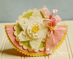 Doilies & Lace card designed by Michele Kovack