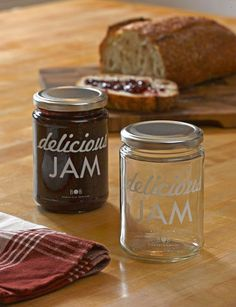 Jam Jars, Set of 4