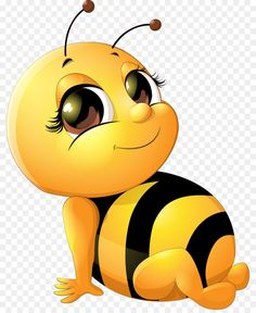 Clipart Baby, Bee Clipart, Cartoon Bee, Cute Cartoon, Honey Bee Cartoon, Bee Pictures, Bee Pics, Emoji Pictures, Clip Art Pictures