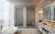 Marble & Polished Brass - David Collins - Three Bed Apartment at the Ritz-Carlton Residences at MahaNakhon