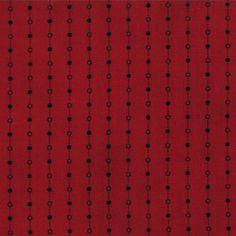 1/2 Yard - SEASONAL LITTLE GATHERINGS Crimson by Primitive Gatherings for Moda Fabrics. by lavendarquilts on Etsy