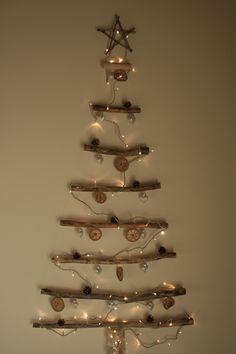 DIY Drift wood Christmas tree!