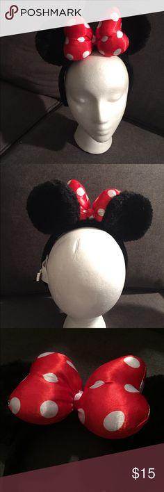 Selling this DISNEY Minnie Mouse Ears on Poshmark! My username is: agomes27. #shopmycloset #poshmark #fashion #shopping #style #forsale #Disney #Other
