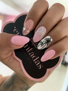 Mar 9 2020 - Nice Nail Colors for Summer Luxury Nice Light Pink Summer Nails Cute Acrylic Nails, Cute Nails, Pretty Nails, My Nails, Classy Nails, Fancy Nails, Pink Summer Nails, Nail Pink, White Nail