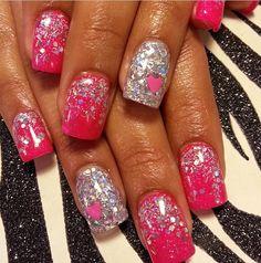 Acrylic nails by Lora
