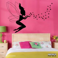 Tinkerbell Pixie Dust Vinyl Wall Decal