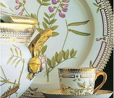 1775 - Royal Danish Porcelain Factory - Flora Danica one of the most expensive porcelains in the world - it's beautiful and still made today!