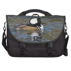 Duck Laptop Messenger Bag by Florals by Fred #zazzle #gift #photogift