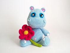 35% OFF Amigurumi Animals Baby Stuff Easter Hippo Crochet