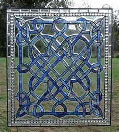Image detail for -... Blue Beveled and Stained Glass Window | Stained Glass and More, Inc