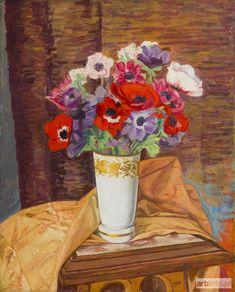 Szymon (Simon, Szmaj) MONDZAIN ● Kwiaty, 1961 r.