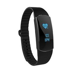 TRASENSE Waterproof Pedometer Fit Watch Step Tracker Counter Fitness Activity Tracker Watch Sleep Heart Rate Monitor Fitbit for Kids Black 2 bands -- Continue to the product at the image link.