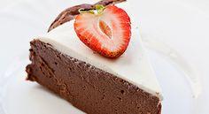 ČOKOTVAROHOVÝ DORT Dessert Recipes, Desserts, Cheesecake, Tailgate Desserts, Deserts, Cheesecakes, Postres, Dessert, Desert Recipes