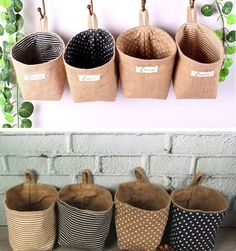 Quality flower girl burlap wedding baskets jute basket/ jute weddng favors bags/ country wedding decoration flower pot with free worldwide shipping on AliExpress Mobile Country Wedding Decorations, Wedding Country, Storage Baskets, Hanging Storage, Flower Pots, Sewing Crafts, Diy And Crafts, Burlap, Creations