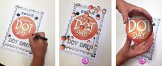 Awesome activity for International Dot Day - use the free colAR app to bring coloring pages to life! I can see many other applications for this app, too. It looks amazing!