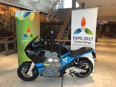 Embassy of Kazakhstan in Netherlands - Kazakhstan crossing round-the-world trip on electricity motorcycles has started in the Netherlands